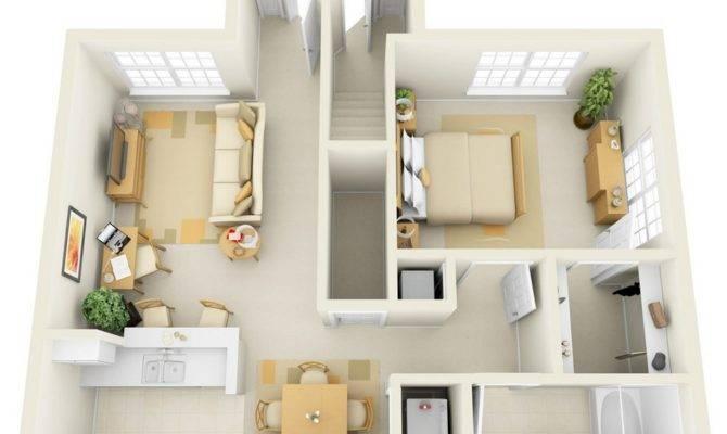 Bedroom Apartment House Plans Home Decor Design