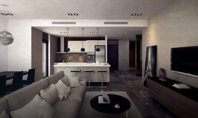 Bedroom Apartment Interior Design Home Concept