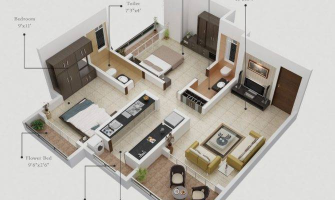 Bedroom Apartments Rent Plans Theydesign