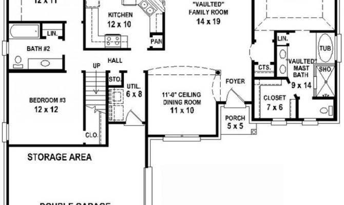 Bedroom Bath Apartment Floor Plans Real