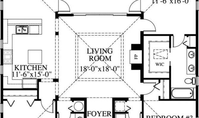 Bedroom Bath Beach House Plans