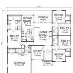 Bedroom Bath Home Plans Archives New Design