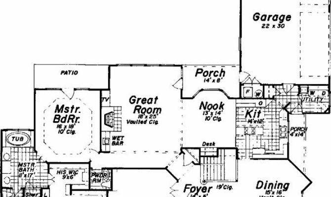 Bedroom Bath House Plan Alp Allplans