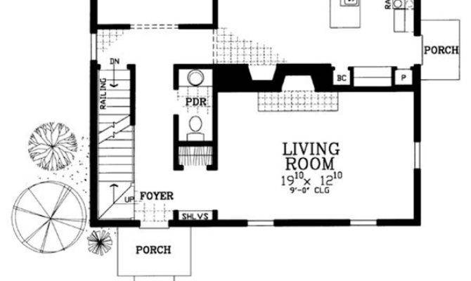 Bedroom Bath House Plans Awesome Three Dimensional