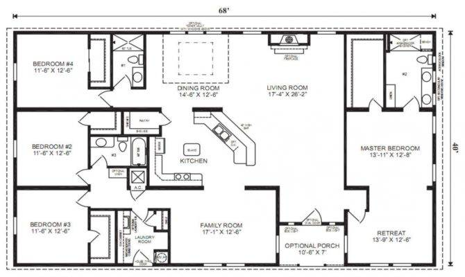 Bedroom Bath House Plans Under Square Feet Small