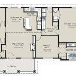 Bedroom Bath House Plans