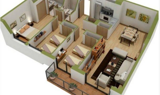 Bedroom Bath Modular Home Floor Plans Wooden