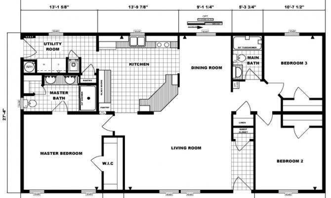 Bedroom Bath Ranch Floor Plans