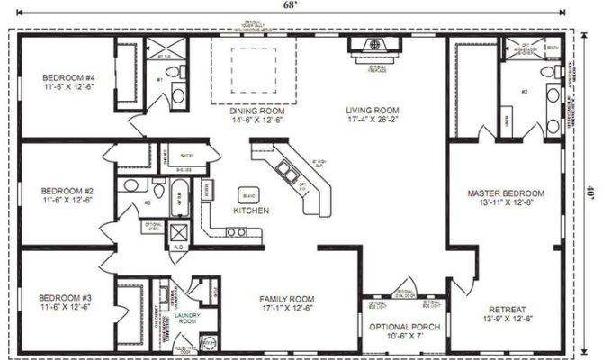 Bedroom Bath Ranch Plan Google Result House Plans