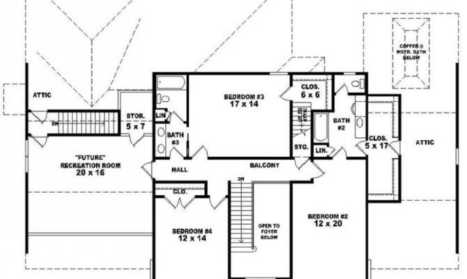 Awesome Floor Plans 4 Bedroom 3 Bath Pictures House Plans