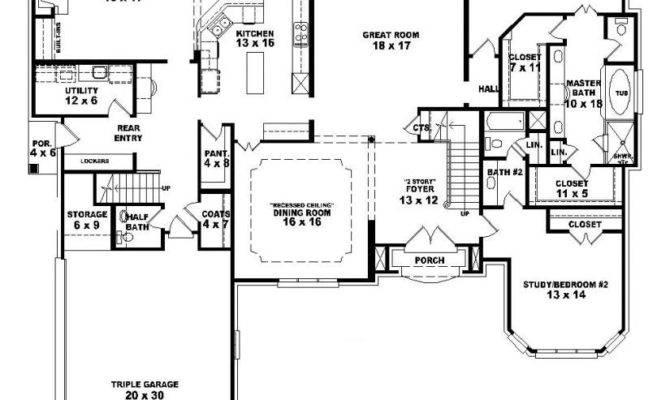 Bedroom Bath Story House Plans Rent Near