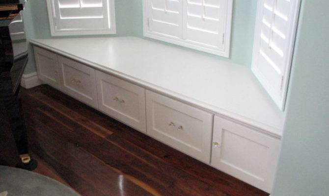 Bedroom Bay Window Bench Seat Storage Furniture