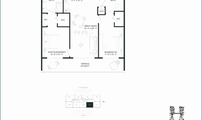 Bedroom Beach House Plan New Plans Small Houses