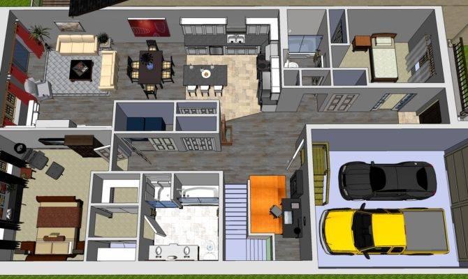 Bedroom Bungalow Design Ideas Modern House Designs
