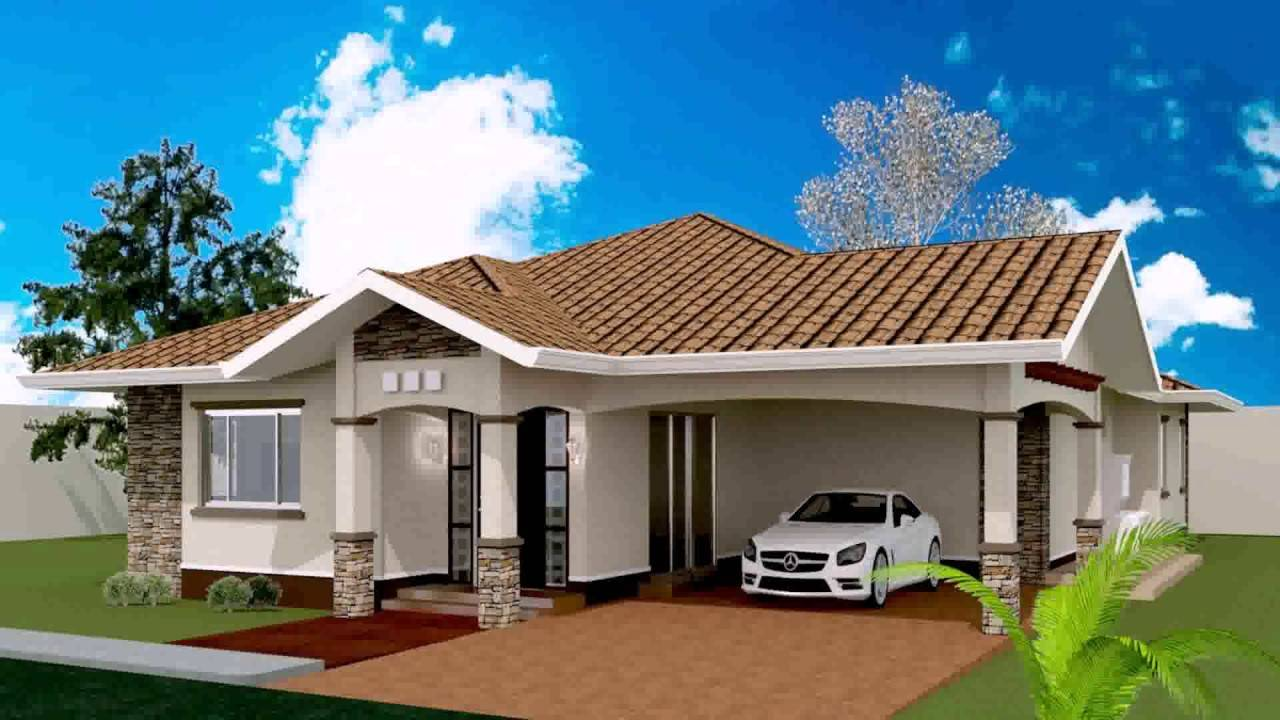 Bedroom Bungalow House Plan Philippines Youtube House Plans 107028