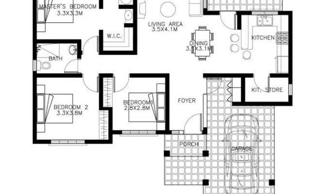 Bedroom Bungalow House Plans Philippines Best