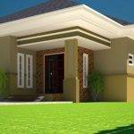 Bedroom Bungalow Plan Half Plot House Floor Plans