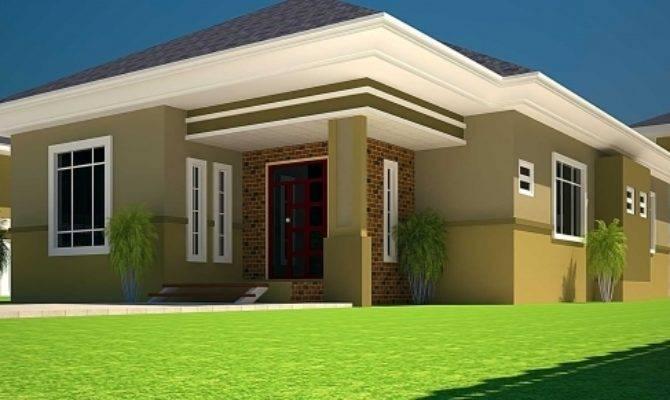 Bedroom Bungalow Plan Half Plot House Floor Plans