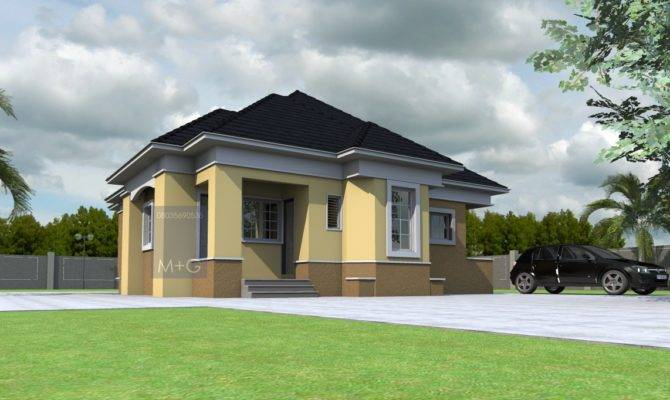Bedroom Bungalow Plan Nigeria Joy Studio Design Best House Plans 69232,How To Make An Envelope With Notebook Paper