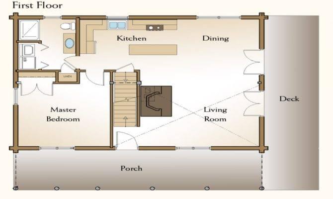 Bedroom Cabin Loft Floor Plans House Style