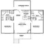 Bedroom Cabin Loft Floor Plans