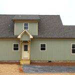 Bedroom Cabin Plan Covered Porch Little River