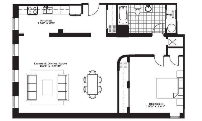 Bedroom Condo Floor Plans Also Incredible One