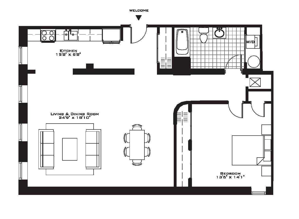 Bedroom Condo Floor Plans Also Incredible One - House ...