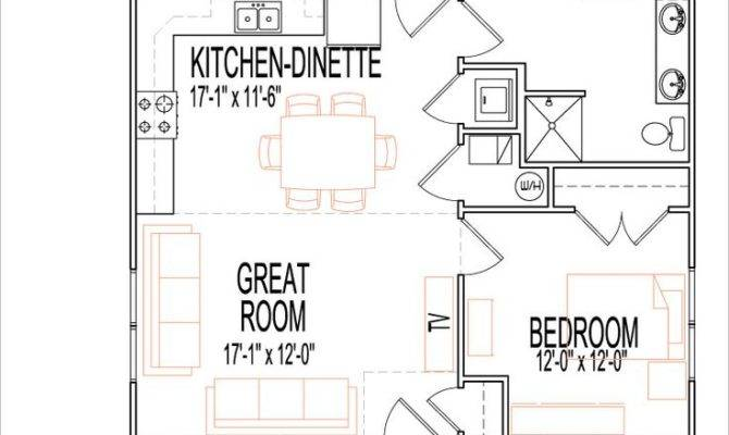 Bedroom Cottage Plans Morespoons