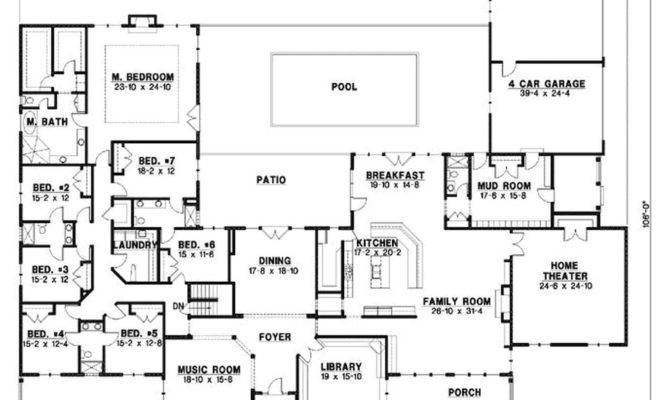 Bedroom Country House Plans Creative Home Design