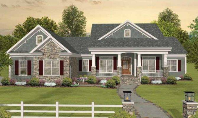 Bedroom Country House Plans Interior
