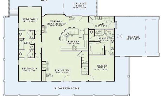Bedroom Country Style House Plans Creative Home Design