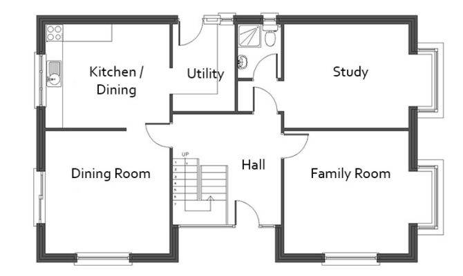 Bedroom Dormer Bungalow Plans Westgates