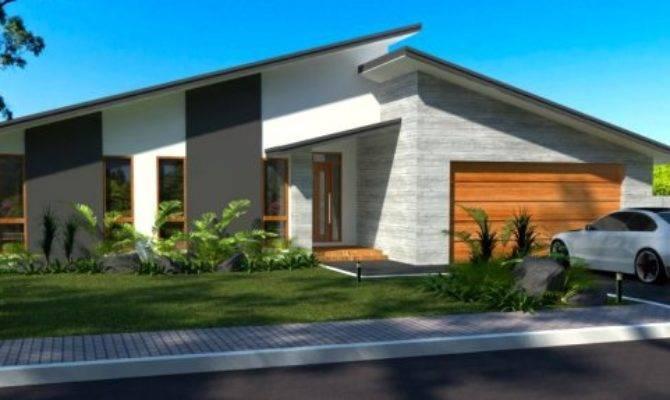 Bedroom Double Garage Australian Houses Cheap House Plans