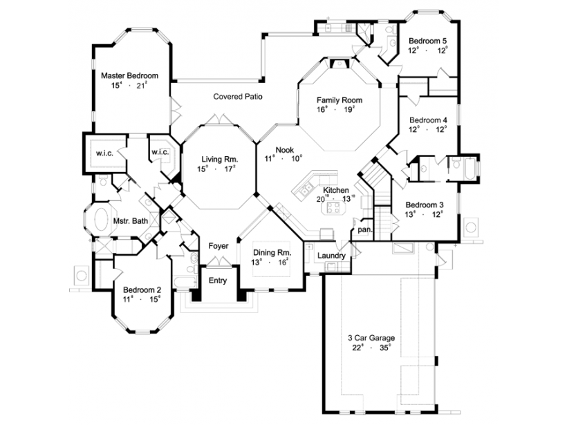 Bedroom Dream House Floor Plans Vancouver Toronto Decor House Plans 71916