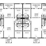 Bedroom Duplex Floor Plans Design House