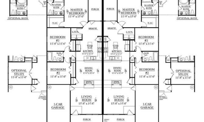 Bedroom Duplex Floor Plans Plan Picmia