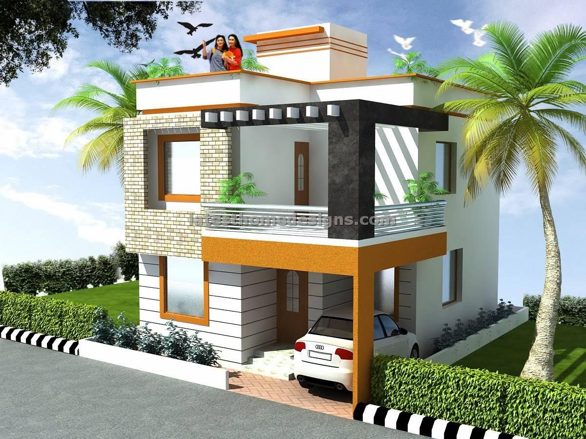Bedroom Duplex House Elevation Design Latest Home Designs House Plans 72039