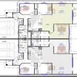 Bedroom Duplex Plans Garage Modern House Plan