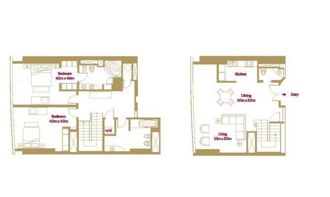Bedroom Duplex Plans Joy Studio Design Best