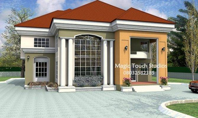 Bedroom Duplex Residential Homes Public Designs