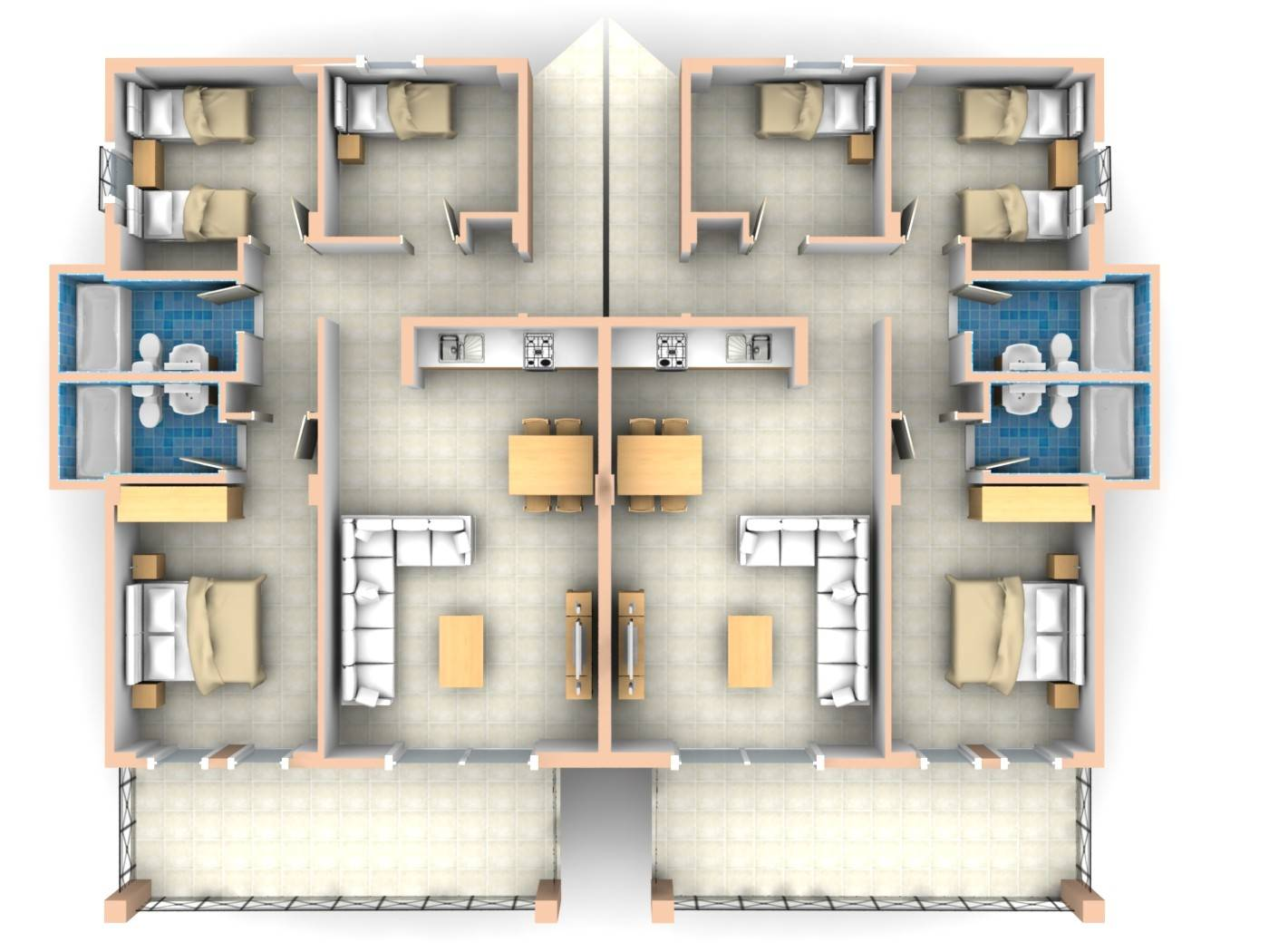27 Genius 3 Bedroom Plan Layout House Plans