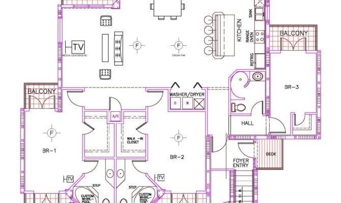 Bedroom Floor Plan Bay Villas Koh Phangan
