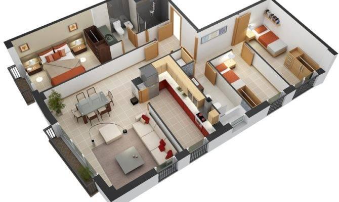 Bedroom Floor Plans House
