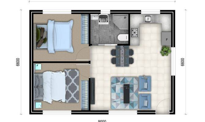 Bedroom Granny Flat Designs