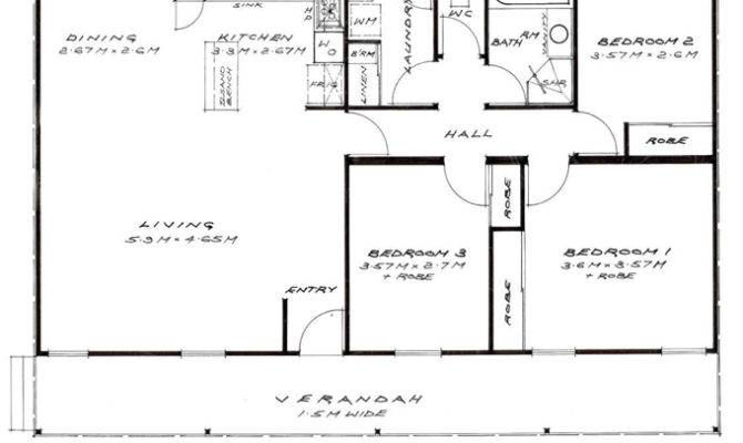 Bedroom Granny Flat Relocatable Home Building Plans