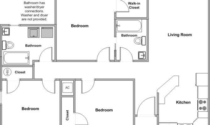 Bedroom Home Floor Plans Guinnproperties Floorplans