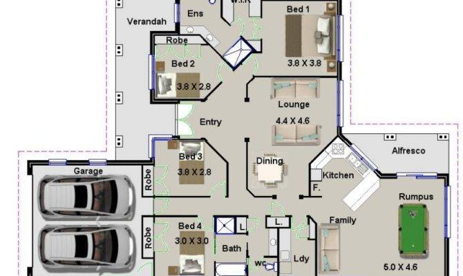 Bedroom Home House Floor Plans Sale Ideal