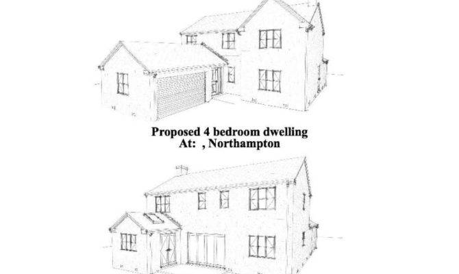 Bedroom House Building Plans New Build