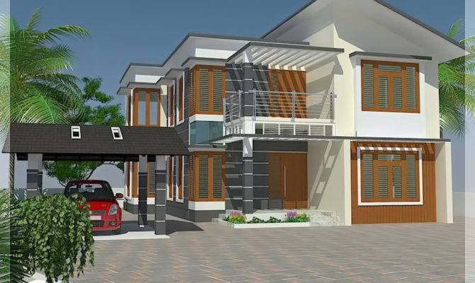 Bedroom House Elevation Floor Plan Kerala